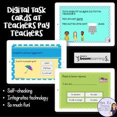 Boom Learning digital task cards now available on TpT!  Such an easy way for students to self-assess. Great practice for bringing technology into the classroom. Click here to read about Boom Cards!