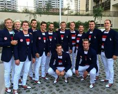 The Ralph Lauren fittings are done and the men's and women's teams are ready for Rio Opening Ceremonies. NBC gets its copious coverage of the games on Friday. Men's Water Polo, Rio 2016, The Smoke, Team Usa, Summer Olympics, Celebrity Look, Opening Ceremony, Olympic Games, My Images