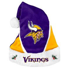 VTG-1980s Original Helga Minnesota Vikings Horned Helmet Sytle Braided Fan hat