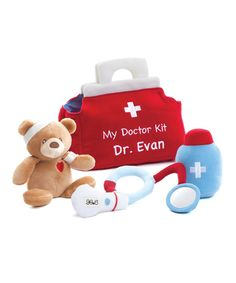 Tys Toy Box GUND My First Doctors Kit Plush Personalized Play Set | zulily