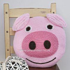 Buy+Pig+Cushion+Crochet+Kit+Online+at+www.sewandso.co.uk