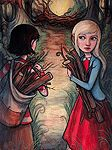 Gathering Wood by Kelly Vivanco