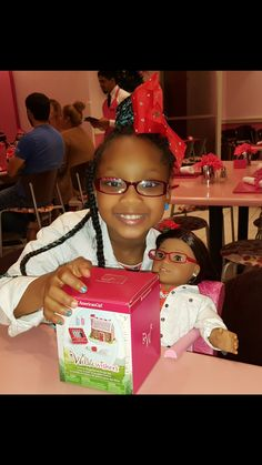 I always enjoy my precious time at the American Girl Brand Doll Company's Bistro @agoffical #americangirlbrand #joy2everygirl