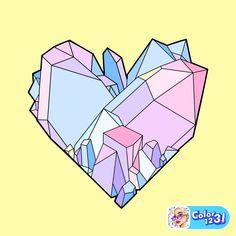 Diamond Gemstone, Furniture, Diamonds, Gemstones, Home Decor, Hearts, Decoration Home, Gems, Room Decor