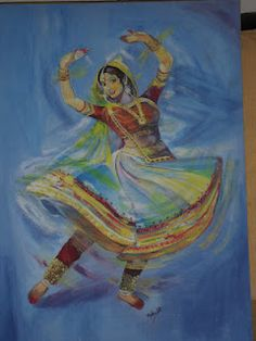 Indian classic dance- Kathak.