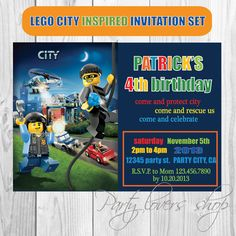 10 Best Lego Invitation Ideas Images On Pinterest Invitation Ideas