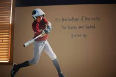 Photo Print and beautiful expression! Great for any kid's room! #baseball #photoprints #champion