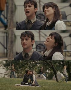 500 days of Summer. my absolute favorite movie in the entire world.
