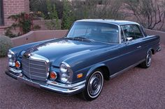 blue mercedes 280se | 1971 MERCEDES-BENZ 280SE Lot 37 | Barrett-Jackson Auction Company