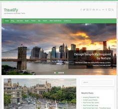 Travelify WordPress Them me