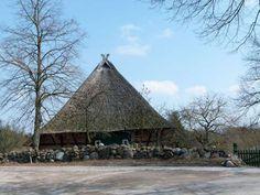Vorbereitungen für einen Aquarellkurs in Schwerin | reetgedeckte Fachwerkhäuser in Mueß (c) Frank Koebsch (2)