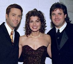 Michael W. Smith, Amy Grant, and her husband and Vince Gill Christian Music Artists, Amy Grant, Vince Gill, Country Music Stars, Pin Up, Husband, Celebrities, People, Singers