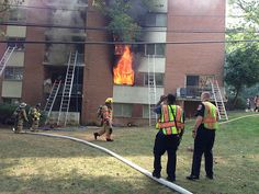 Two-Alarm Silver Spring Fire Displaces Over 100 Residents and Sends 10 to Area Hospitals