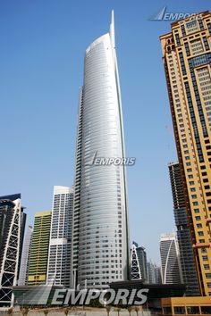 28.  Almas Tower, Dubai, 363.07 meters, 68 floors above ground, completed in 2007