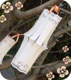 ELISA WEDDING DREAM BLOG - Wedding Planner Sardegna: Crea con Elisa: Decorare con la carta pizzo