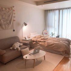 Room Design Bedroom, Room Ideas Bedroom, Small Room Bedroom, Home Room Design, Home Bedroom, Bedroom Decor, Bedrooms, Study Room Decor, Minimalist Room