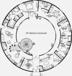 dome Floor Plans | An Engineers Aspect: Monolithic Dome Home Floor ...