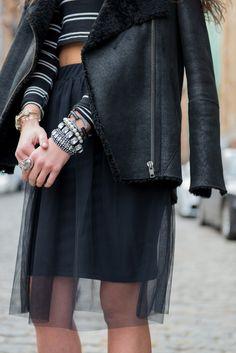 The Village Vogue |  A Moda e Estilo de Vida Blog por Eliza Higgins |  Topshop Tulle Skirt
