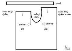 návod ŠITÍ: Zavinovací kalhoty