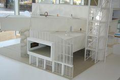 la Maison du Projet... regorge de trésors miniatures montrant ce que sera le futur Centre Pompidou-Metz ; de nombreuses sources et références en tout genre, de la documentation, de la vidéo, etc...