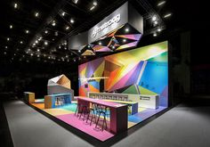 Armstrong trade fair stand by Ippolito Fleitz Group, Munich - Germany