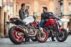Ducati Monster 821 - Ducati have announced the brand new Monster 821, a mid-size entry for the third generation of the iconic naked model. Available in Ducati Dealerships from July 2014 (Europe) and August 2014 (Australia  New Zealand) onwards, Both red and white liveries are equipped with colour-matched single-seat covers. Pricing will be released closer to the arrival date.