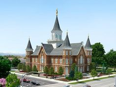 "Provo Utah ""Tabernacle"" Temple - This temple was just announced and will replace the historical Provo Tabernacle that burnt down about a year ago.  I attended a concert here a few years ago and recently visited the grounds to see the steps being taken to preserve what is left of the building."