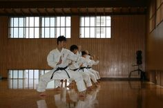 Traditional #Japanese #Karate in a #Dojo in #Japan #GojuRyu #Goju