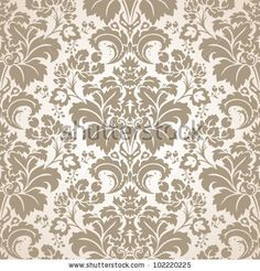 Baroque Seamless Pattern by LDesign, via Shutterstock