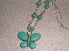 BUTTERFLY PENDANT NECKLACE - The Supermums Craft Fair