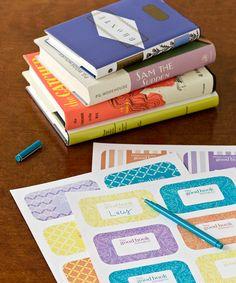 Craft Idea: Free, Fun Bookplates - GoodHousekeeping.com