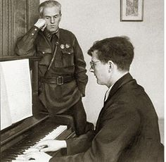 """Among the famous figures of science and culture """"enemies of the people"""" were: Composer Dmitri Shostakovich"""