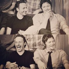 Andrew Lincoln & Norman Reedus- The Walking Dead