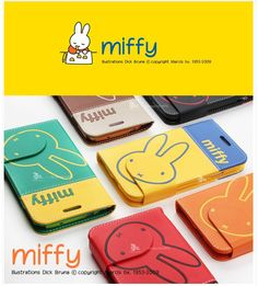Miffy Dairy Phonecase. Cute style. apply galaxy s4/s3