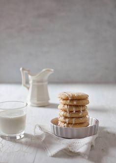 Lemon Cookies with Lemon Icing
