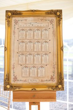 Dottie Creations seating plan Old Country House Glamour Wedding http://www.johastingsphotography.co.uk/