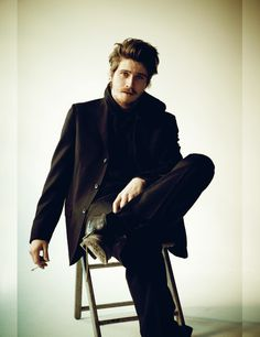 GARRET HEDLUND, Never really thought I would find a man who looks sexy with a mustache…… but………