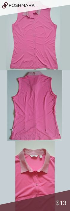 Lady Hagen Golf Athletic Sleeveless Top Size M