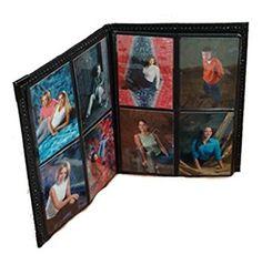 Photo Album 2.5?x3.5? holds 80 Elegant Black Leatherette Cover Review