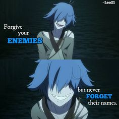 """Anime: Rokka no yuusha That's right. I have some """"enemies"""" Dark Quotes, Strong Quotes, True Quotes, Anime Depression, Depression Quotes, Anime Qoutes, Manga Quotes, Sad Anime, Manga Anime"""