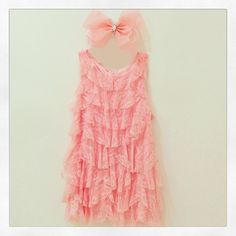 For the little girl who strives for style and comfort!!! #colibribebe #ootd #dress #bow #party #fashionkids #beautiful