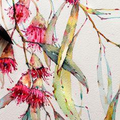 Eucalyptus in watercolor on Behance