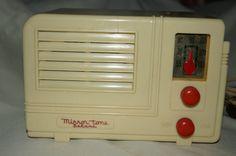 Mirror Tone Bakelite Radio 830 ART Deco Radio   eBay