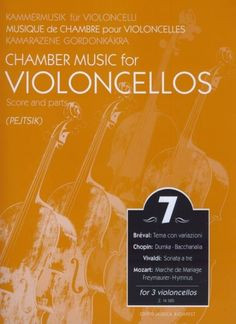 Chamber Music for Cellos, Volume 7 (Cello Trios) Score & Parts