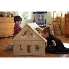 Maine Waldorf Wooden Dollhouse - Bella Luna Toys