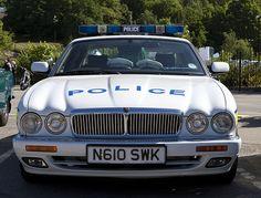 Jaguar X300 XJ6 Police Car by 5DII, via Flickr