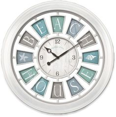FirsTime® Beach House Wall Clock