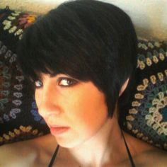 Molly Gilbert. Haircut/color by me.