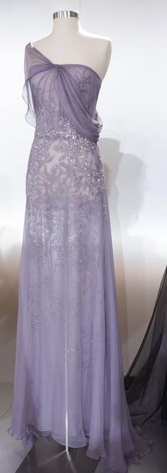 Rami Al Ali Couture Spring 2014 -- OH!! I would float around wearing this dress!
