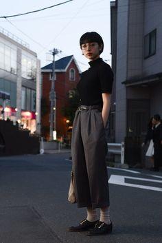 ลุคเสื้อคอเต่าจาก Tokyo Fashion Week 2016